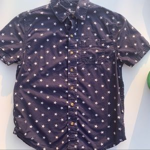 Arizona button down shirt size 8